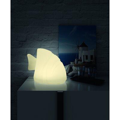 """100 Essentials Ocean 11.81"""" H Fish Table Lamp"""