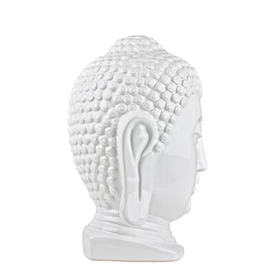 100 Essentials Ceramic Buddha Head