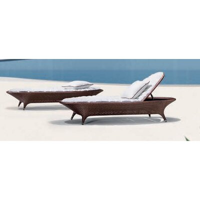 100 Essentials Flora Sunbed with Cushions