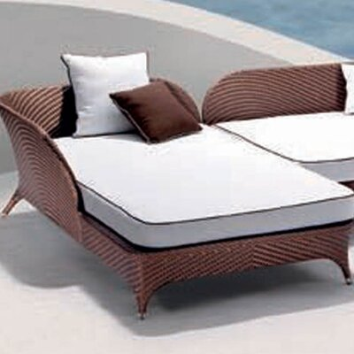 100 Essentials Flora Right Corner Daybed Sectional Piece with Cushion