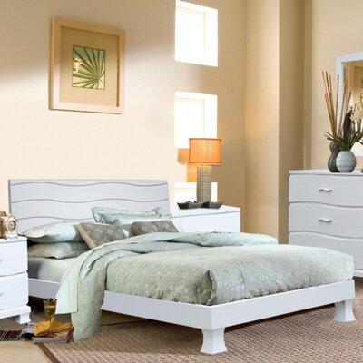 Acacia Panel Bed