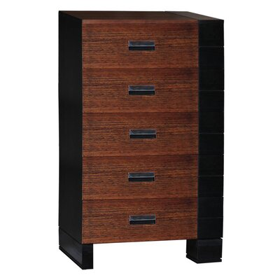 Brazil Furniture Group Geranium 5 Drawer Chest
