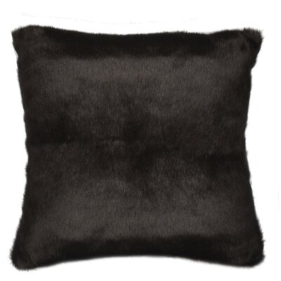 Faux Fur Sable Cotton Pillow