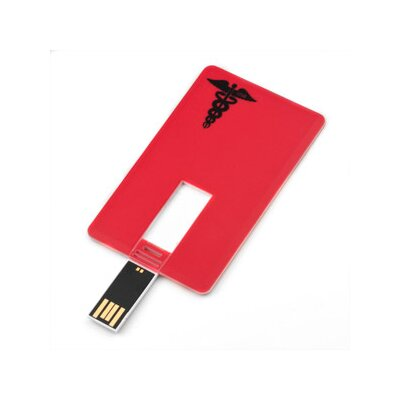 Sticky Jewelry USB Medical Alert Wallet Card