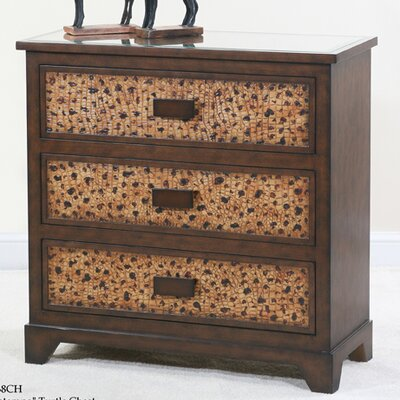 Ultimate Accents Contempo Turtle 3 Drawer Chest