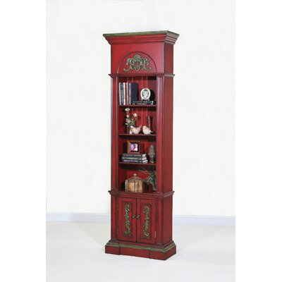 "<strong>Ultimate Accents</strong> Crimson 84.25"" Narrow Bookcase"