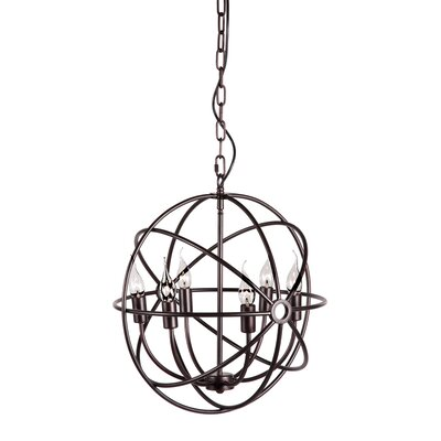 Zuo Era Hazenite 6 Light Foyer Pendant