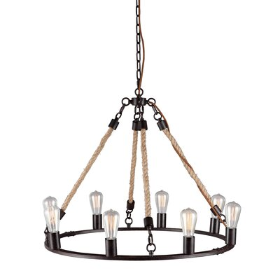 Galena 8 Light Pendant