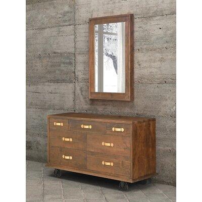 Zuo Era Oaktown 7 Drawer Dresser