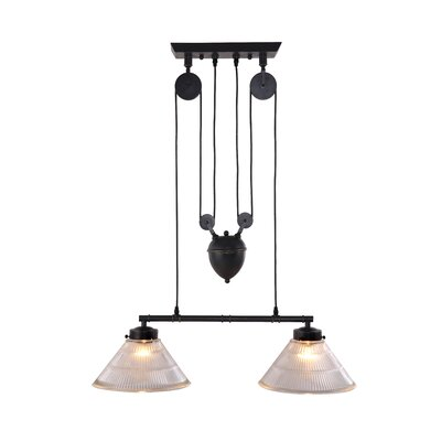 Zuo Era Garnet 2 Light Ceiling Lamp