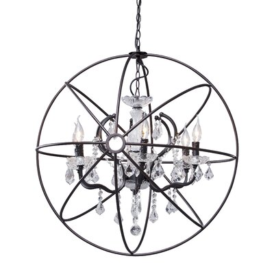 Zuo Era Diamond 6 Light Ceiling Lamp