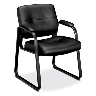 Basyx by HON VL690 Series Guest Leather Chair