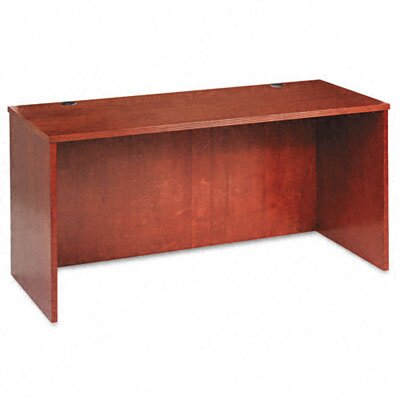 Basyx by HON Veneer Credenza Shell with Beaded Edge Detail