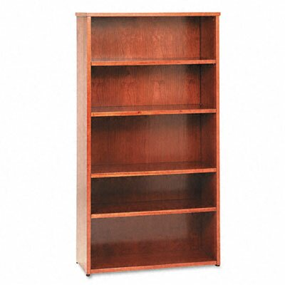 Basyx by HON Veneer Bookcase with Beaded Edge Detail