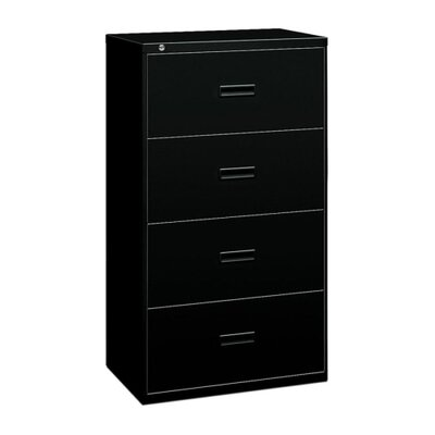 Basyx by HON 400 Series Four-Drawer Lateral File