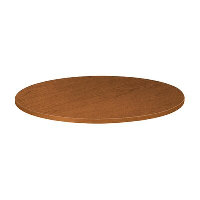 "Basyx by HON Round Tabletop, 48""Diameter, Bourbon Cherry"