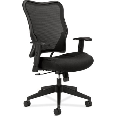 Basyx by HON VL700 Series Highback Mesh Chair with Arms