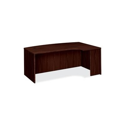 Basyx by HON BL Series Desk Shell with Curved Extension