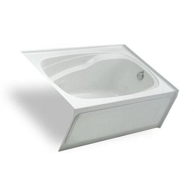 "Jason Hydrotherapy Integrity 72"" x 37"" Bathtub with Integral Skirt Right"