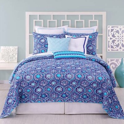 Trina Turk Residential Caprice Medallion Coverlet Collection