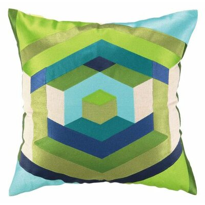 Trina Turk Residential Hexagon Linen Pillow