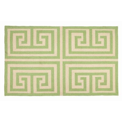 Trina Turk Residential Greek Key Green Rug