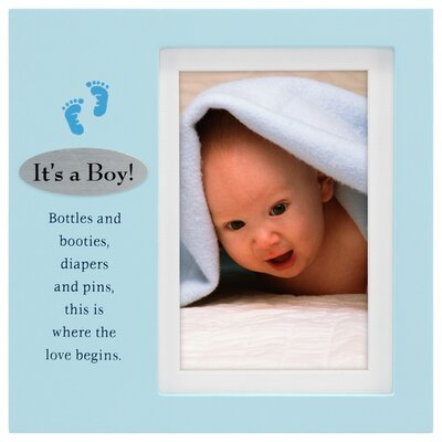 Malden It's A Boy Plaque Picture Frame