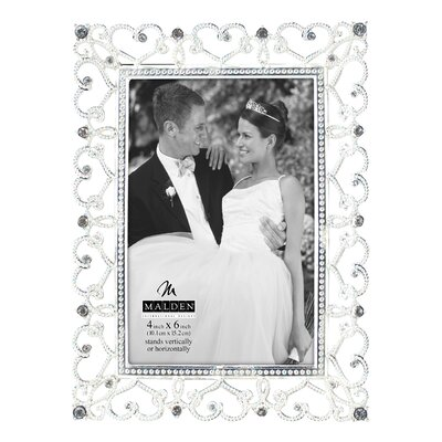 Malden Diamond Hearts Picture Frame