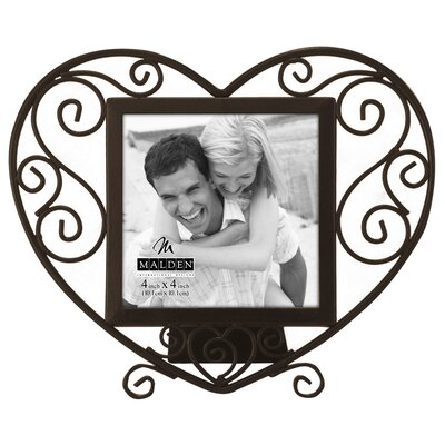 Wire Heart Picture Frame