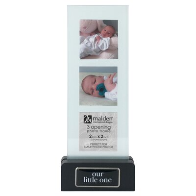 Malden Our Little One Block Vertical Picture Frame