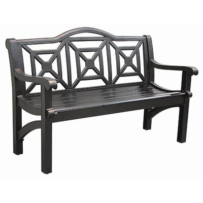Innova Hearth and Home Concord Cast Aluminum Camelback Park Bench
