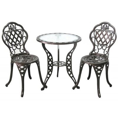Innova Hearth and Home Regis Promo 3 Piece Bistro Set