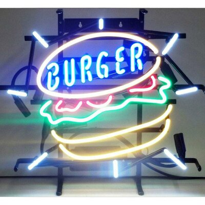 Neonetics Burger Neon Sign