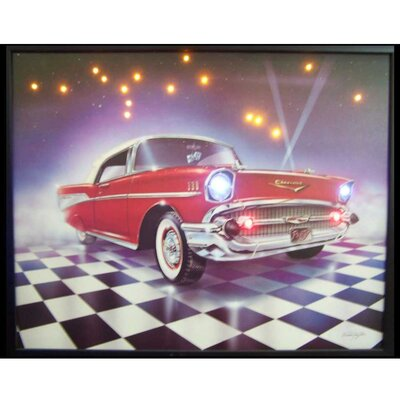 Neonetics 57 Chevy LED Lighted Print