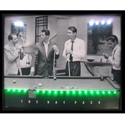 Neonetics Rat Pack LED Lighted Print