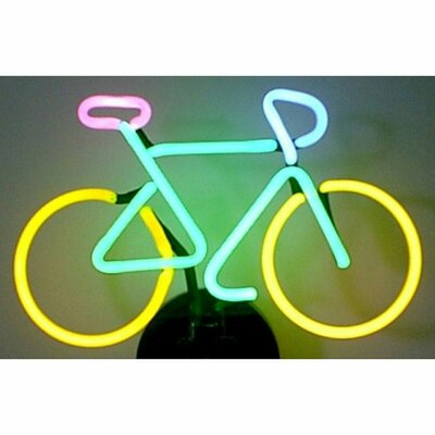 Neonetics Business Signs Bicycle Neon Sign & Reviews | Wayfair