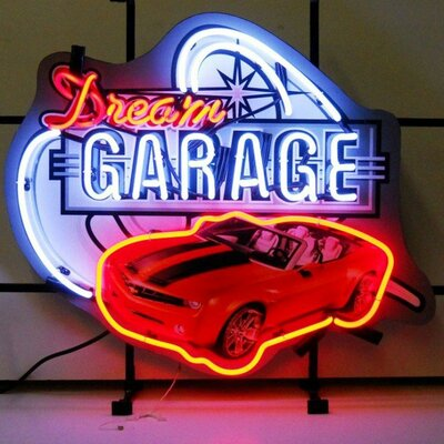 Neonetics Car & Motorcycles Dream Garage Camaro Neon Sign