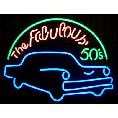 Neonetics Fabulous 50's Neon Sign