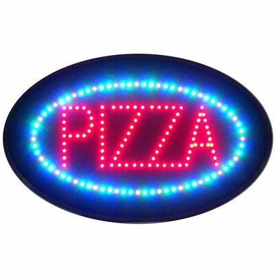 Neonetics Pizza LED Sign