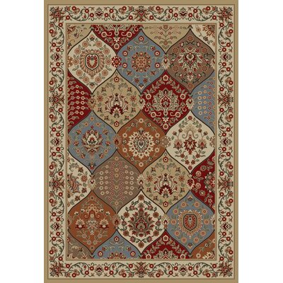 Infinity Home Barclay Ivory Wentworth Panel Rug