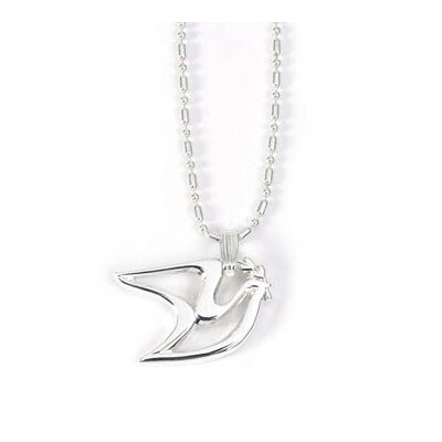 Newport Sterling Sterling Silver Peace Dove Pendant Necklace