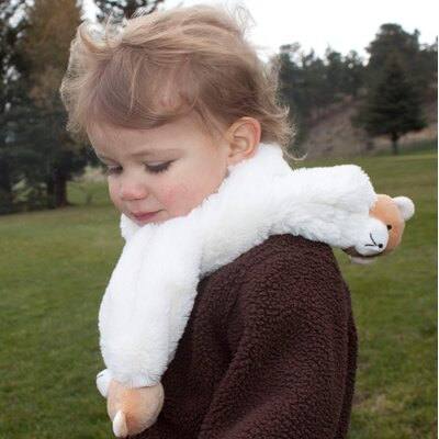 Little Dundi Soft & Cuddly Scarf with Bear Pompons