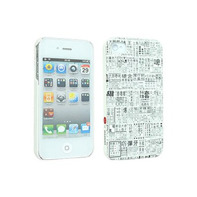 Odoyo Chinese Newspaper G.O.D. Case for iPhone 4/4S