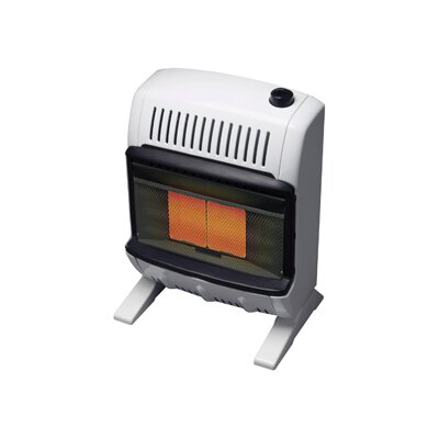 Mr. Heater 10000 BTU Liquid Propane Radiant Vent Free Wall Mount Heater