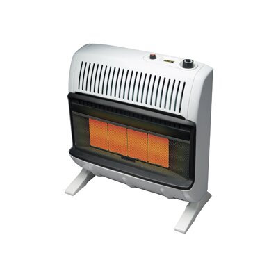 Mr. Heater Vent Free 30,000 BTU Radiant Utility Liquid Propane Space Heater