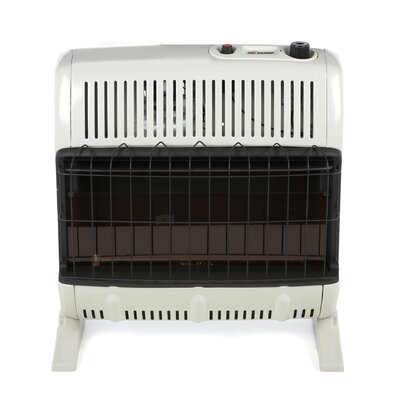Mr. Heater Vent Free 30,000 BTU Convection Utility Natural Gas Space Heater
