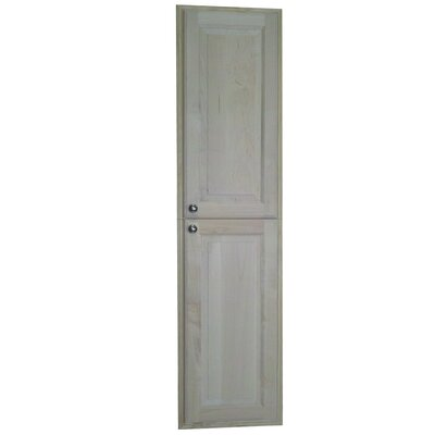 WG Wood Products Baldwin Recessed Pantry Storage Cabinet