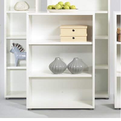 Tvilum Fairfax Short Wide Bookcase in White