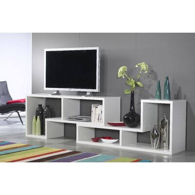 Tvilum 98Stewart Office Bookcase in White