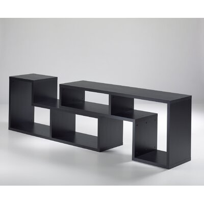 Tvilum Stewart Office Bookcase in Black Woodgrain